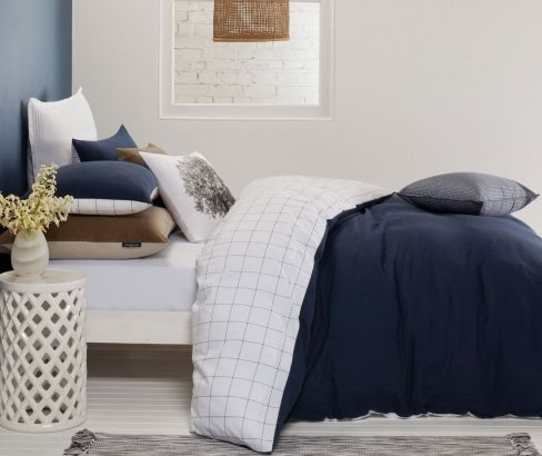 Brooklyn Quilt Cover Set - A perfect for a his or her bedroom! #quiltcoverset