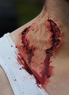 werewolf bite makeup - Google Search