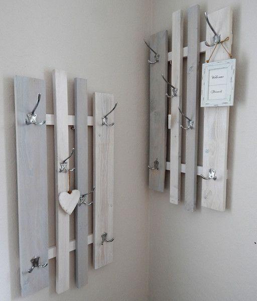 "2tlg. Kombi-Garderobe ""Variabel"", grau-weiß von ♥ lamemo ♥  auf DaWanda.com                                                                                                                                                      Mehr"