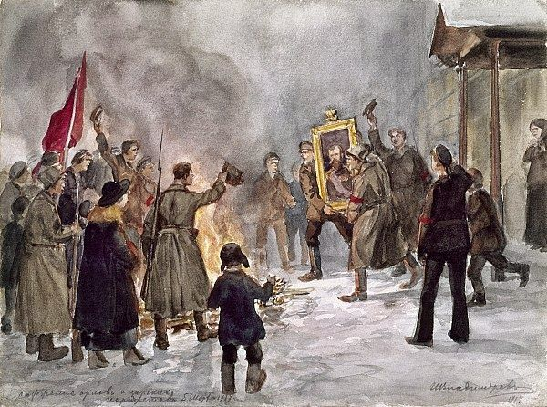 Dinge en Goete (Things and Stuff): This Day in World War 1 History: Mar 12, 1917 Russian army lends support to rebels in February Revolution