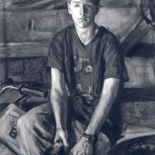 Jane Bond 'Joe Dugdale' charcoal