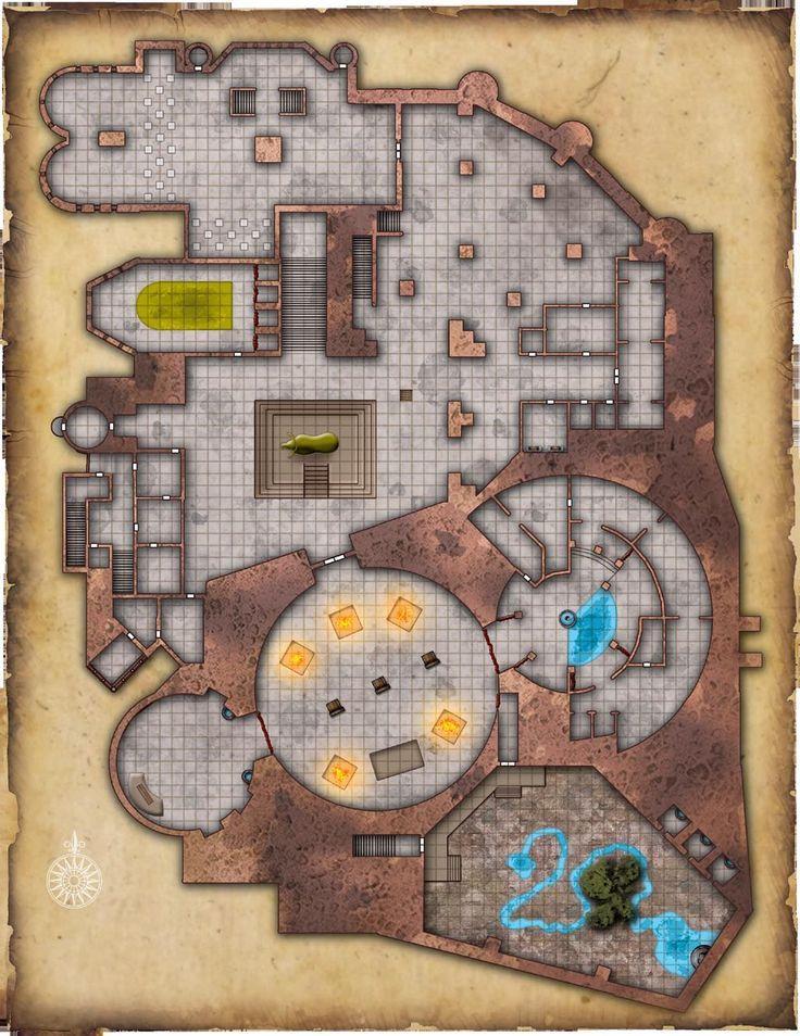 Confraria de Arton: Dungeons (e mapas) para suas aventuras - 52                                                                                                                                                                                 Mais
