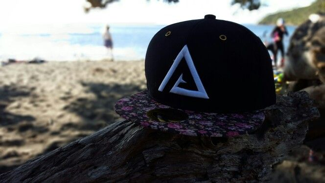 Pure Aesthetics - Floral Snapback in its natural habitat