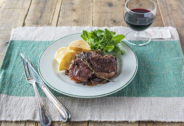 鶏肉の和風赤ワイン煮のレシピ。  | 暮らし上手