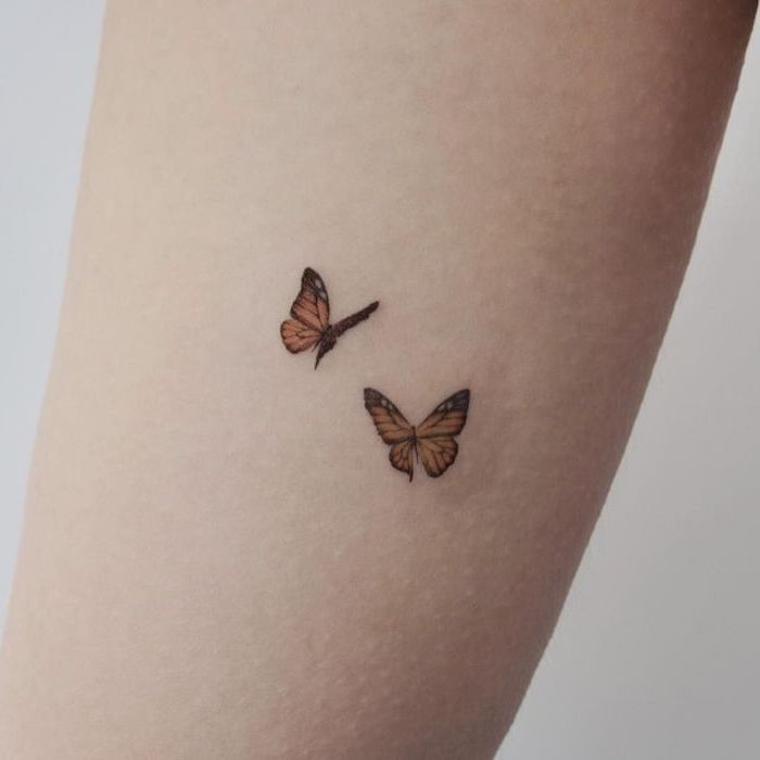 ▷ 1001 + Ideas for beautiful and unique little tattoos for girls – #Unique # for #Ideas #small # girls