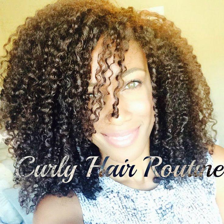 Miix Mii: Nikki's Curly Hair Routine