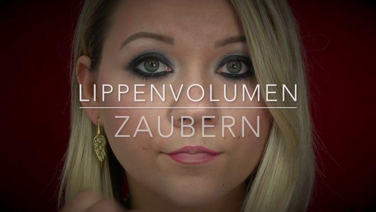 Lippen größer schminken - Tutorial - Lippenvolumen zaubern mit nur ein paar wenigen Schritten. Wie das Funktioniert siehst du heute in meinem Video! Inlovewithcosmetics
