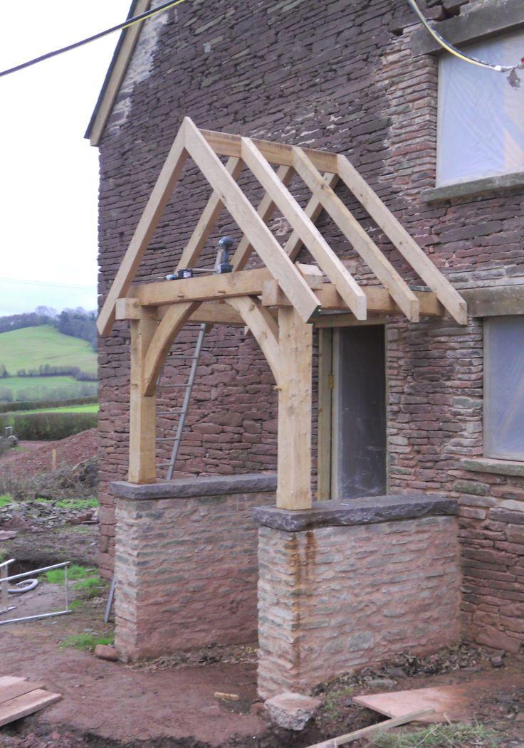Oak Porch. Low Side Walls