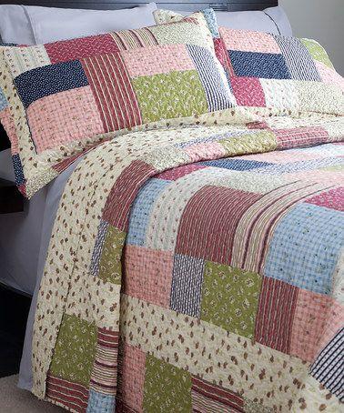Love this Lavish Home Savannah Quilt Set on #zulily! #zulilyfinds