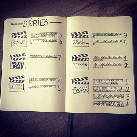 Liste des séries à regarder et en cours dans mon bullet journal  #serie #serievore #series #bulletjournalideas #bulletjournalcommunity #bulletjournaljunkies #bujoaddict #bujo #bulletjournal #mistresses #mistressesusa #onceuponatime #ouat #thewalkingdead #walkingdead #twd #orangeisthenewblack #oitnb #prettylittleliars #pll #outlander #outlanderseries
