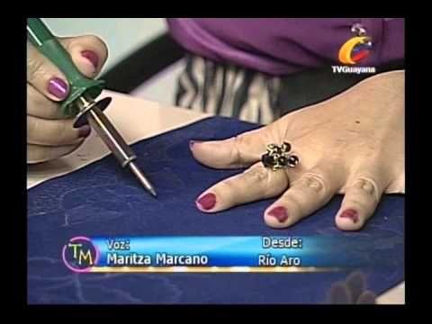 Pirograbado en Gamuza con: Yesenia Bastardo (Taller de Manualidades) - YouTube