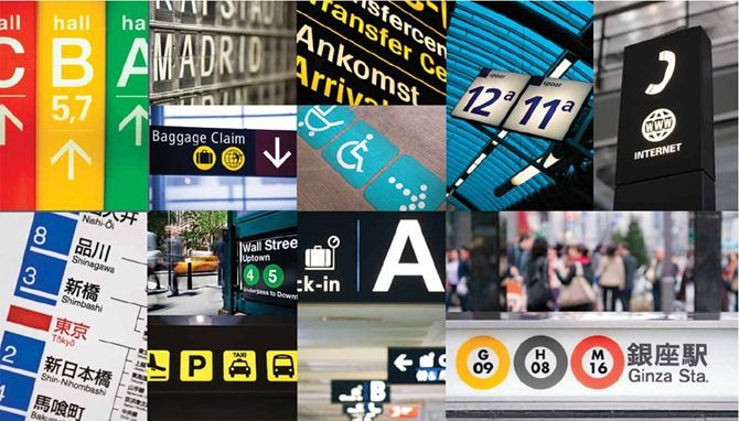 Transportation and wayfinding signage