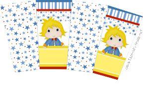 kit pequeno príncipe caixa de pipoca