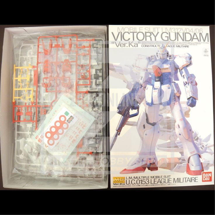 [MODEL-KIT] MG 1/100 - LM312V04 V GUNDAM Ver.Ka. Item Size/Weight : 31.3 x 20 x 11.2 cm / 590g*. (*ITEM SIZE & WEIGHT BEFORE PACKAGED). Condition: MINT / NEW & SEALED RUNNER. Made by BANDAI.