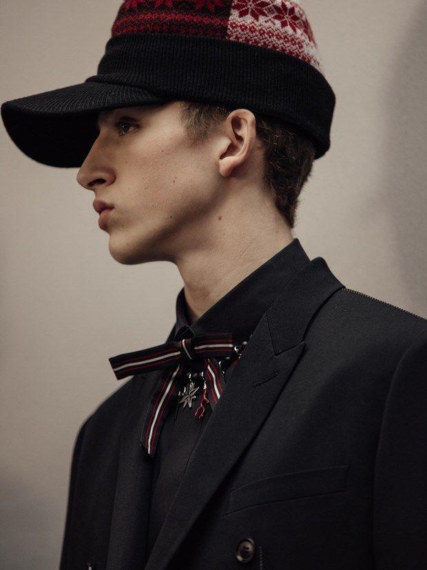 Mateo Garnier by Chloé Le Drezen - Backstage at Dior Homme FW16