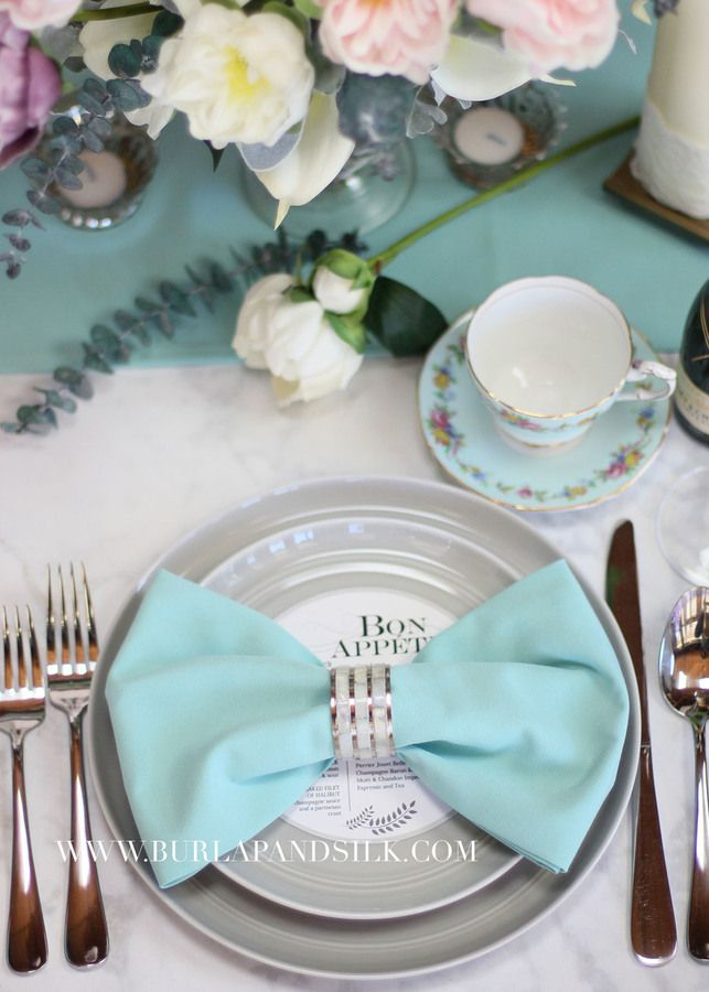 20 Inch Aqua Spa Napkin Napkins For WeddingTiffany