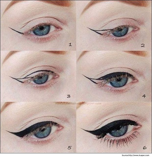 How to Put Eyeliner and Makeup your Eyes? | Makeup Tips