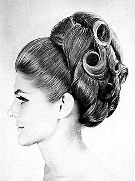 historical hair style 1960