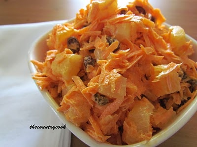 The Country Cook: Classic Carrot Salad.....curious?