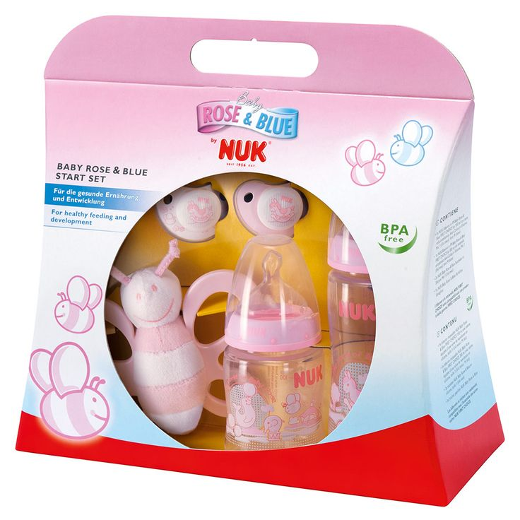 NUK Start- Set Baby Rose | Babyartikel.de
