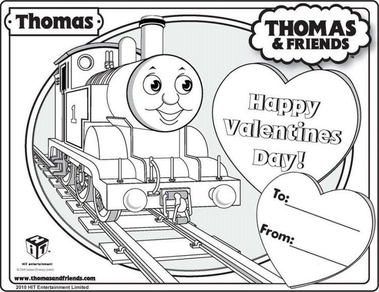16 best images about Thomas the Tank Engine – Thomas the Train Valentines Day Cards