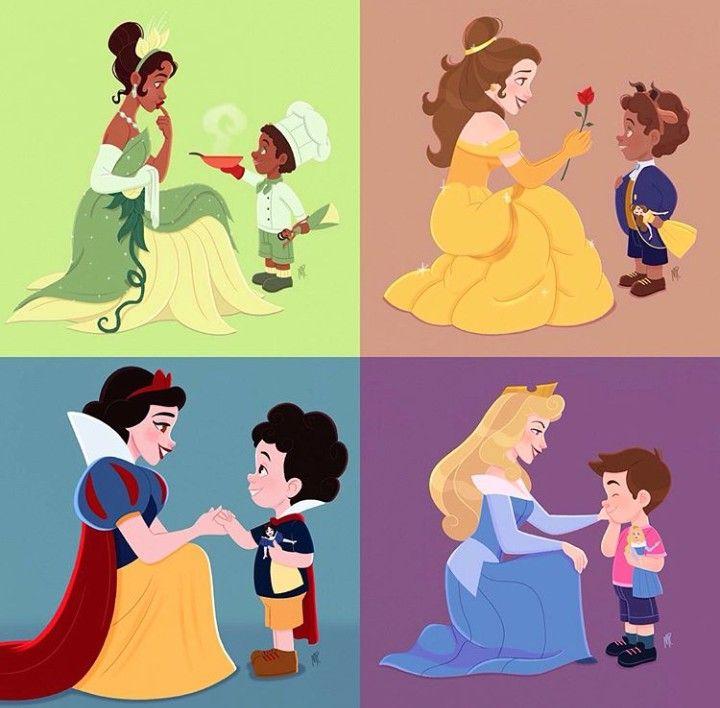 Открытки днем, картинка с принцессами переписка