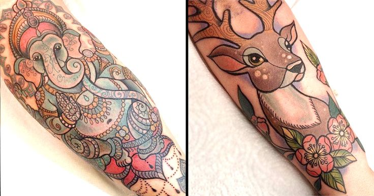 Birmingham tattoo artist Dawnii Fantana's beautiful new traditional style tattoos will remind you of the classic Disney films we all loved.