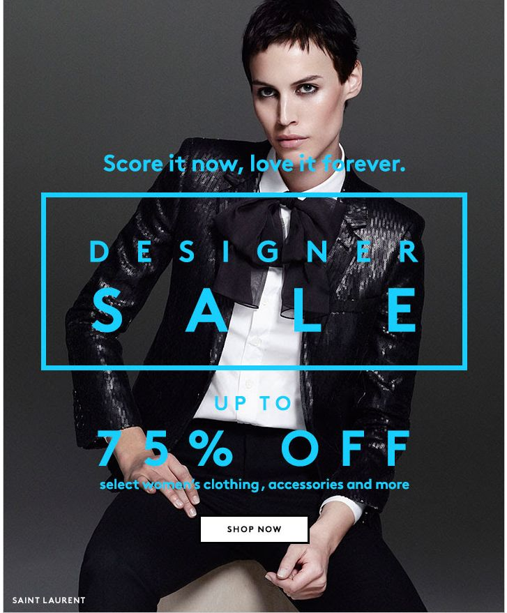 Barneys Sale Email Design