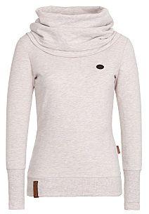 naketano Kurzer Schniedelwutz - Sweatshirt for Women - Khaki/Beige