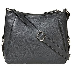 Offering multiple storage compartments, our cross body bag is the perfect option for a day out shopping! Fully lined, this bag features a deep...