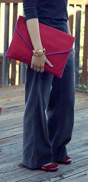 How to - Envelope Clutch Bag Tutorial