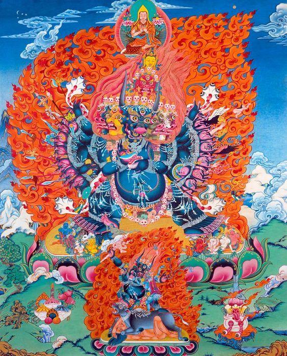 Yamantaka | Thangkas2 ekkor: 2019 | Buddha és Spiritualitás