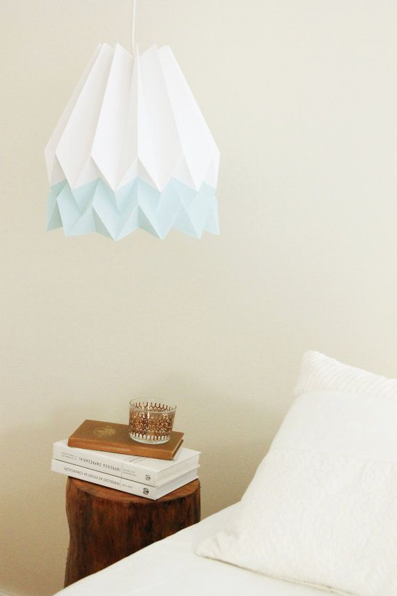 Origami Lamp Pendant Light Shade For Bedroom Nusery Or Living Room