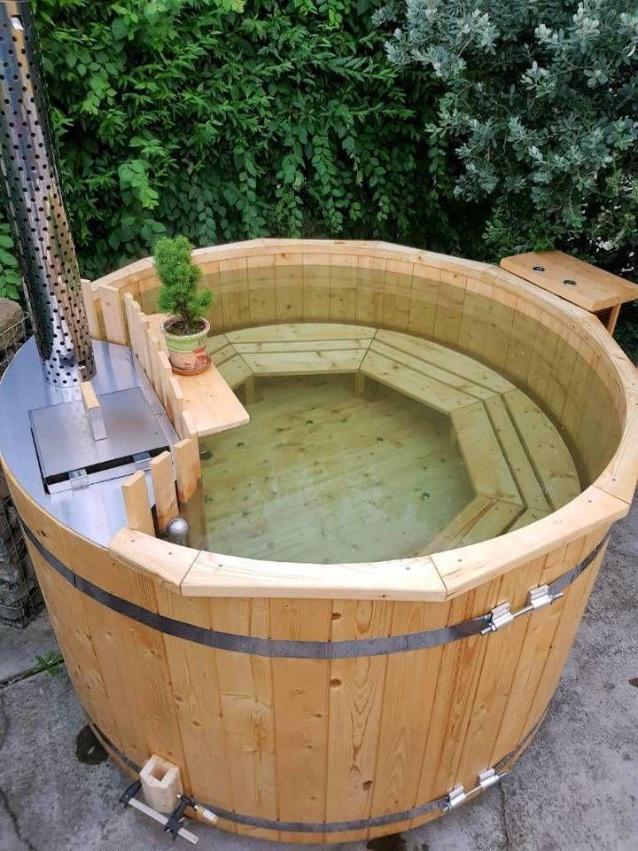 Winter Pool Mit Holzofen Badebottich Tauchbecken Sauna Badezuber In Thuringen Erfurt Badebottich Badezuber Tauchbecken