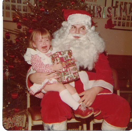 love these old pics...: Pics, Merry Blah, Blah Blah, Santas, Children, Advice, Christmastime