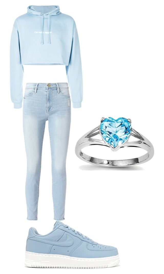 Cielo by niko-arce-olate on Polyvore featuring polyvore, fashion, style, F.A.M.T., Frame, NIKE and clothing