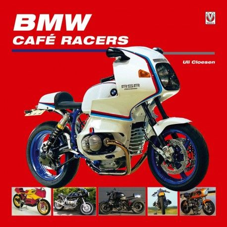 Bmw Cafe Racers Book. This is the first to cover the evolution of the BMW sportsbike to the BMW cafe racer. http://ferro29.com