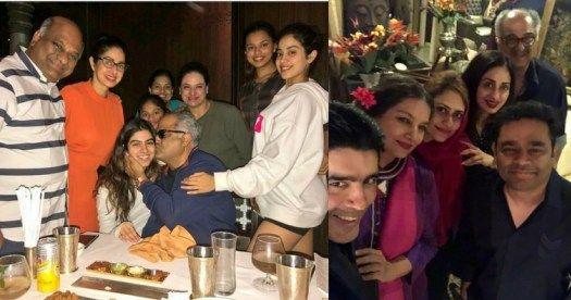 Sridevi host a birthday bash for husband Boney Kapoor see pics
