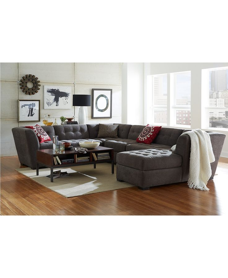 Roxanne Fabric Modular Living Room Furniture Collection, Created for Macy's | macys.com