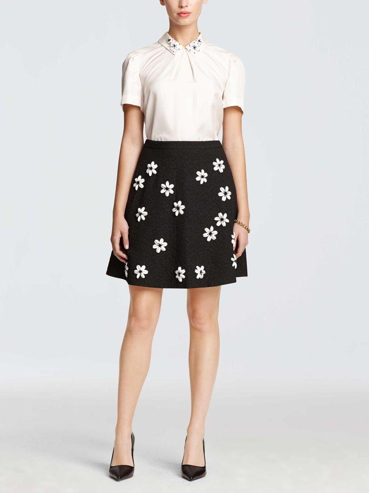 collection embellished skirt   Draper James