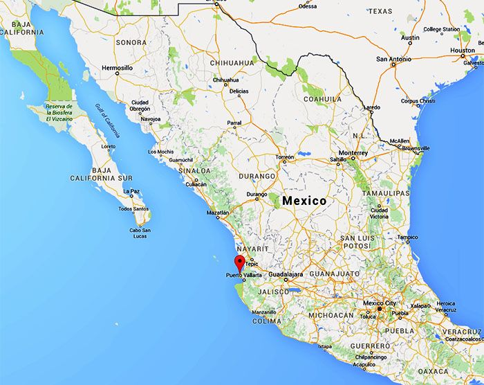 Haunted Beaches And The World S Best Fish Tacos In Sayulita Mexico Sayulita Mexico Mexico Map Mexico