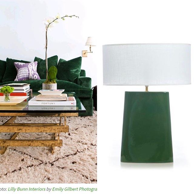 Vibrant dark green - exudes a laid back vibe. Featuring: Bloomingdales Dark Green Wedge - also available in Yellow. @domain.com.au #pantonecoloroftheyear #pantone2017 #green #greenlamp #tablelamp #queenslandstyle #realestatesydney #bloomingdaleslighting #melbournestyle #linenshade #sydneystyle #trending #interiortrends #interiorinspo #luxuryhomes #luxuryliving #classicdesign #contemporaryclassic #formandfunction #lightingdesign #homedecor #lighttheworld