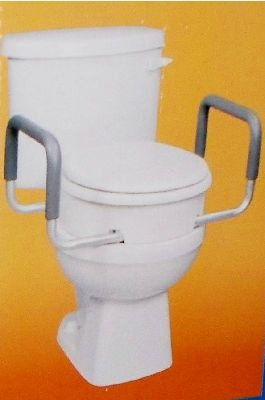 Carex Toilet Seat Elevator With Handles For Elongated