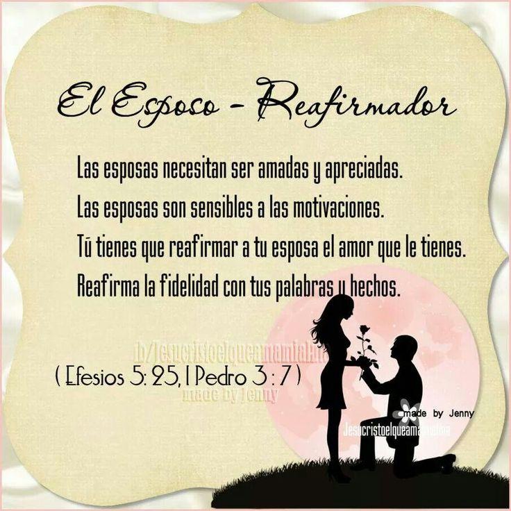 El esposo-Reafirmador