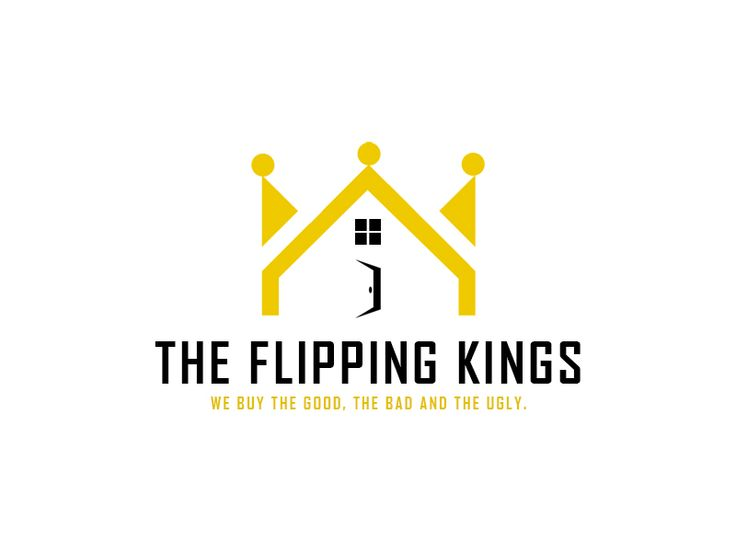 Our REI Logo Created When We Decided it was time to be Our own Boss.  #theflippingkings #entrepreneur #realestateinvestor