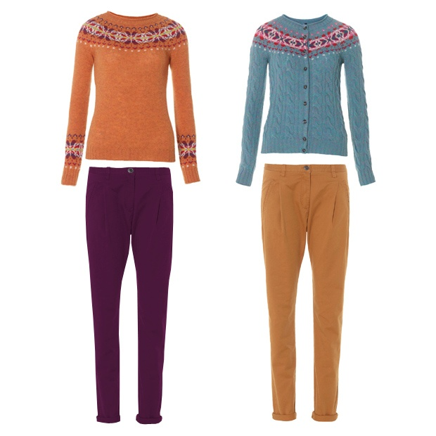 More looks and ideas Woman - Chinos & Shetland - benetton
