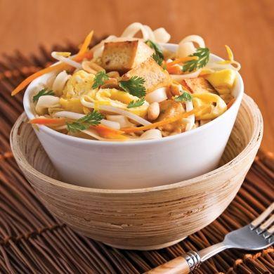 Pad thaï végé - Recettes - Cuisine et nutrition…