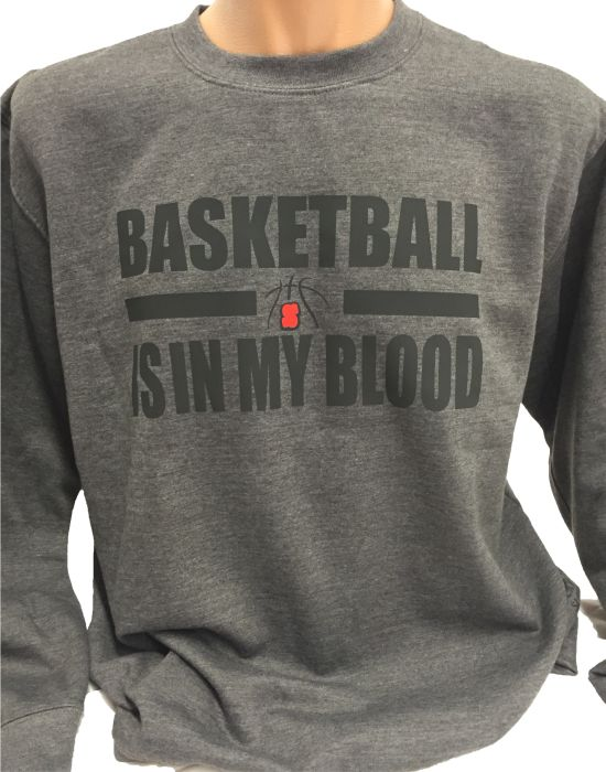 Basketball Sweater Basketball is in my Blood
