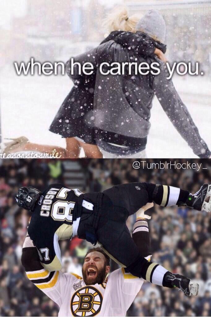Hahaha Chara > Crosby #Hockey #Humor
