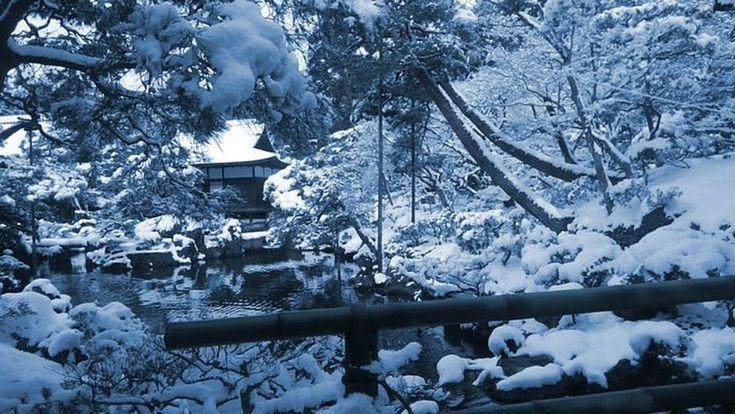 Η έντονη χιονόπτωση μετέτρεψε το Κιότο σε... παραμυθούπολη (εικόνες) | altsantiri.gr
